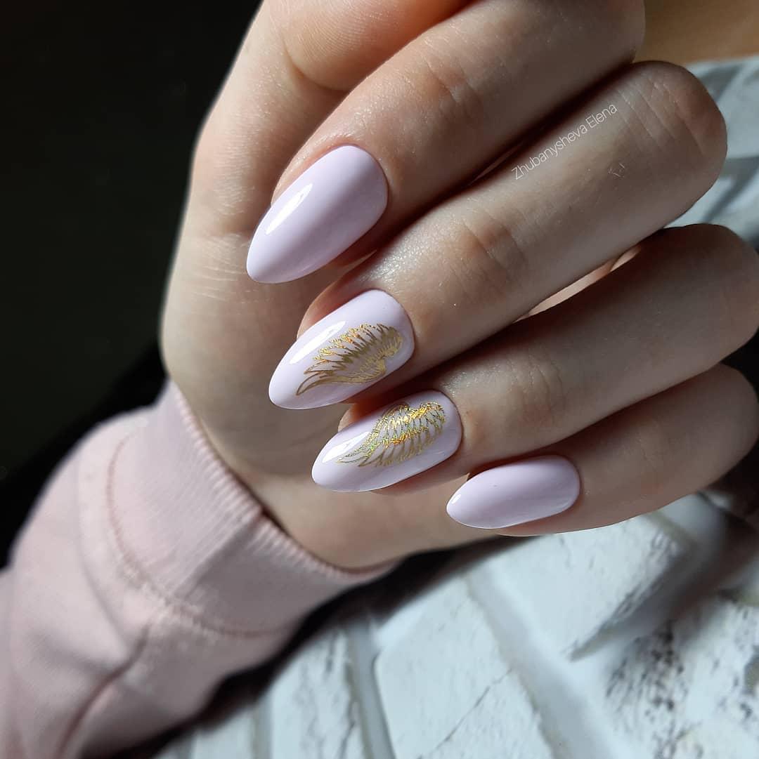 50 фото-идей розового дизайна ногтей для романтичных натур