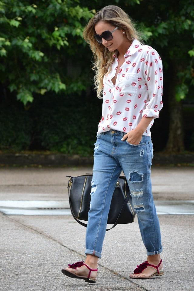 Как правильно подобрать босоножки к джинсам, чтобы не выглядеть нелепо
