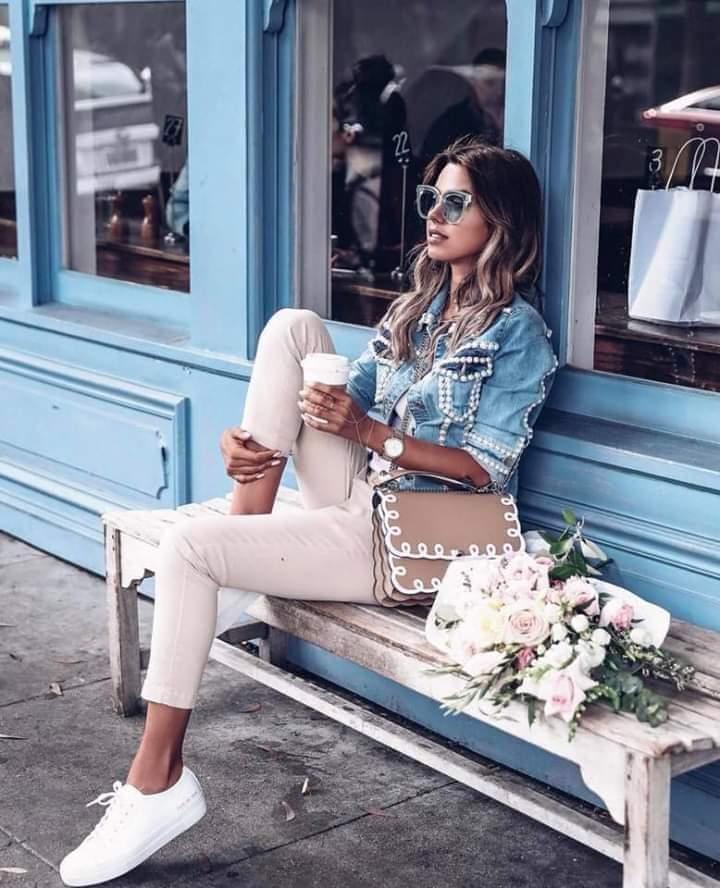 Летняя джинсовка