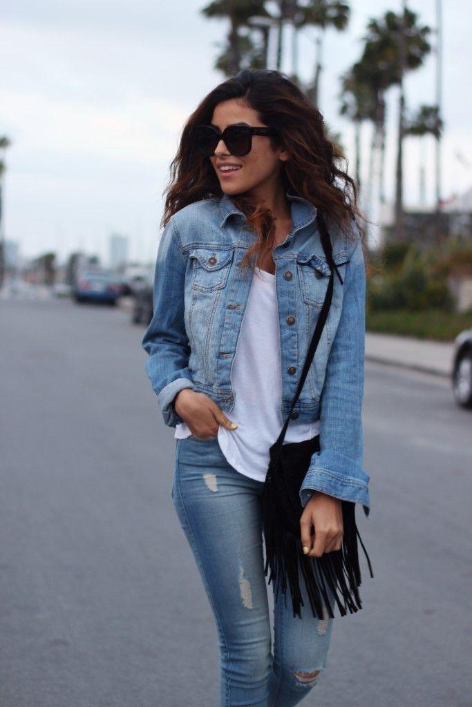 Джинсовка и джинсы