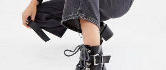 Как модно носить джинсы с ботинками: лучшие образы на все случаи жизни