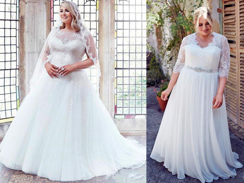 Полнота - для невесты не помеха