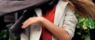 Модели пальто и плащей, виды и стили пальто