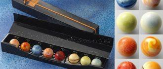 Шоколадный планетарий