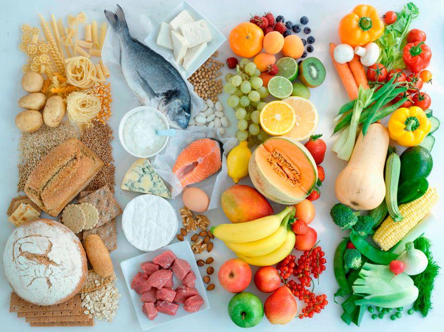 Продукты, которые являются основой правильного питания