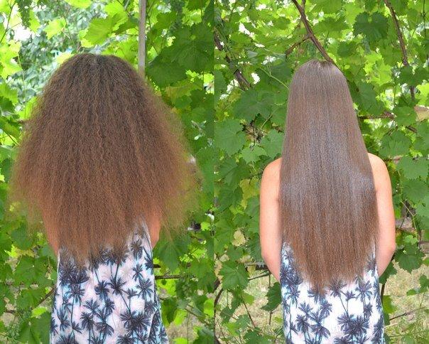 Волосы после брейдов