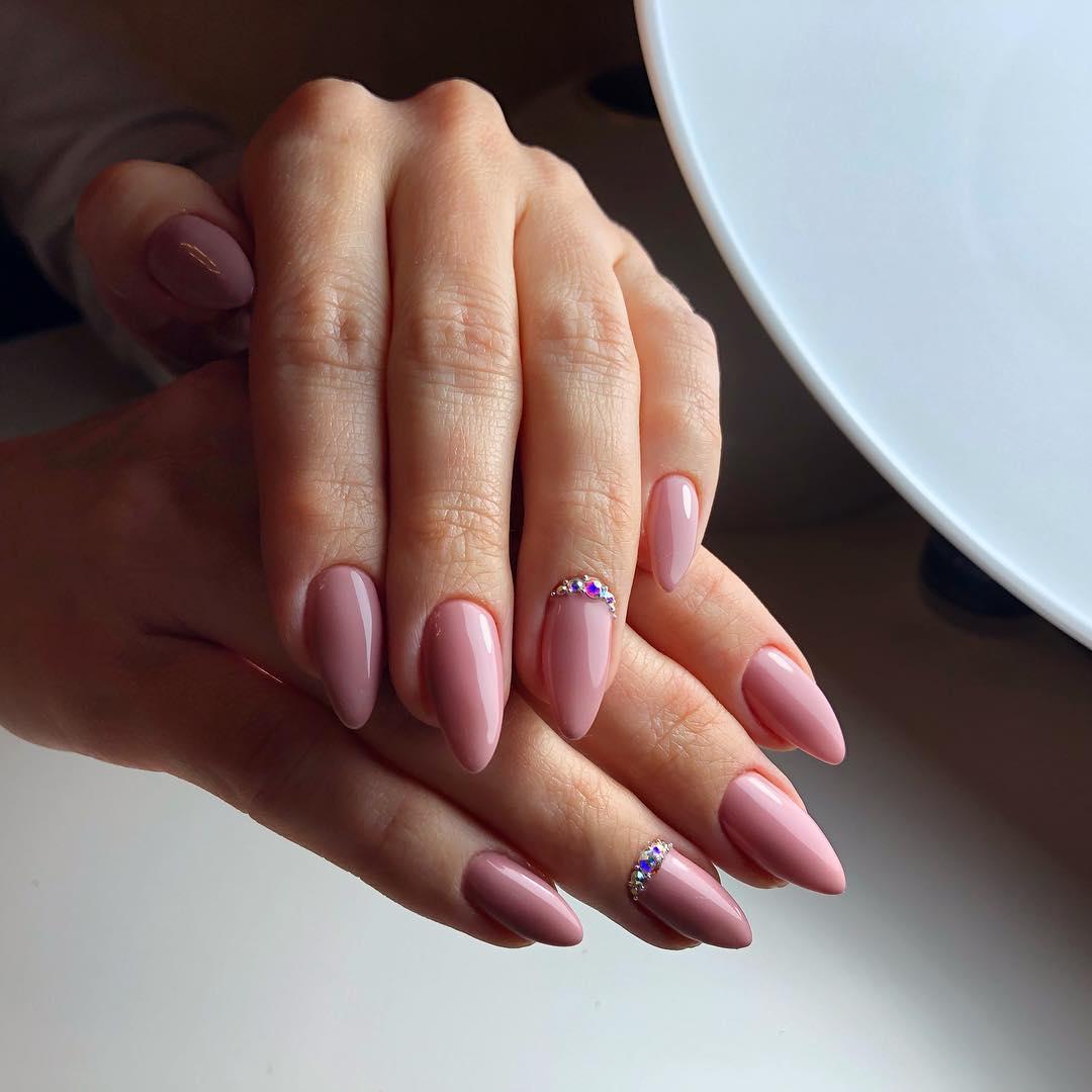 Наращивание ногтей гелем в картинках