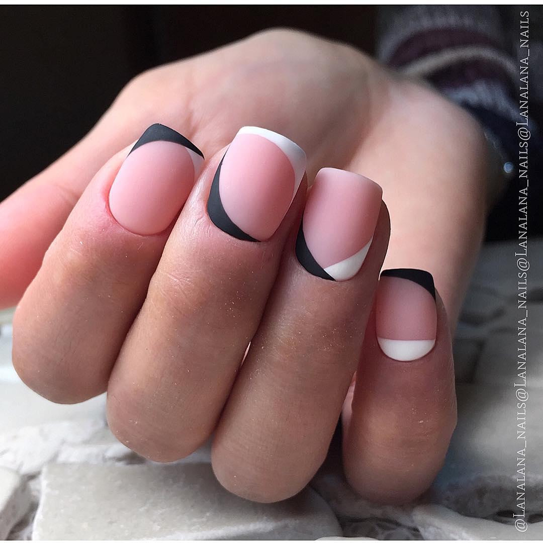 Нежный маникюр на короткие ногти: свежие идеи 2019 года