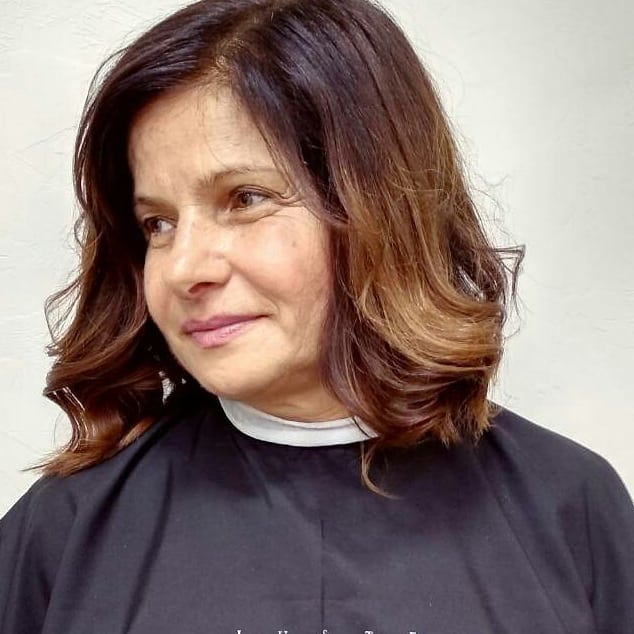 Каскад - идеальная стрижка для объема тонких волос