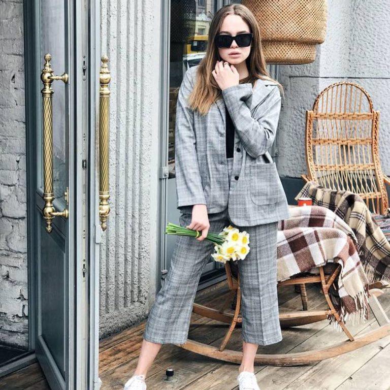 50 идей с чем надеть модный клетчатый пиджак в офис или на свидание