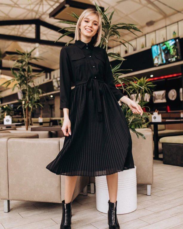 С чем носить модную в этом сезоне юбку-плиссе