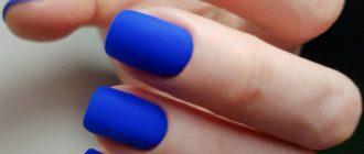 Цвет настроения синий: 70 идей маникюра, которые вам захочется повторить
