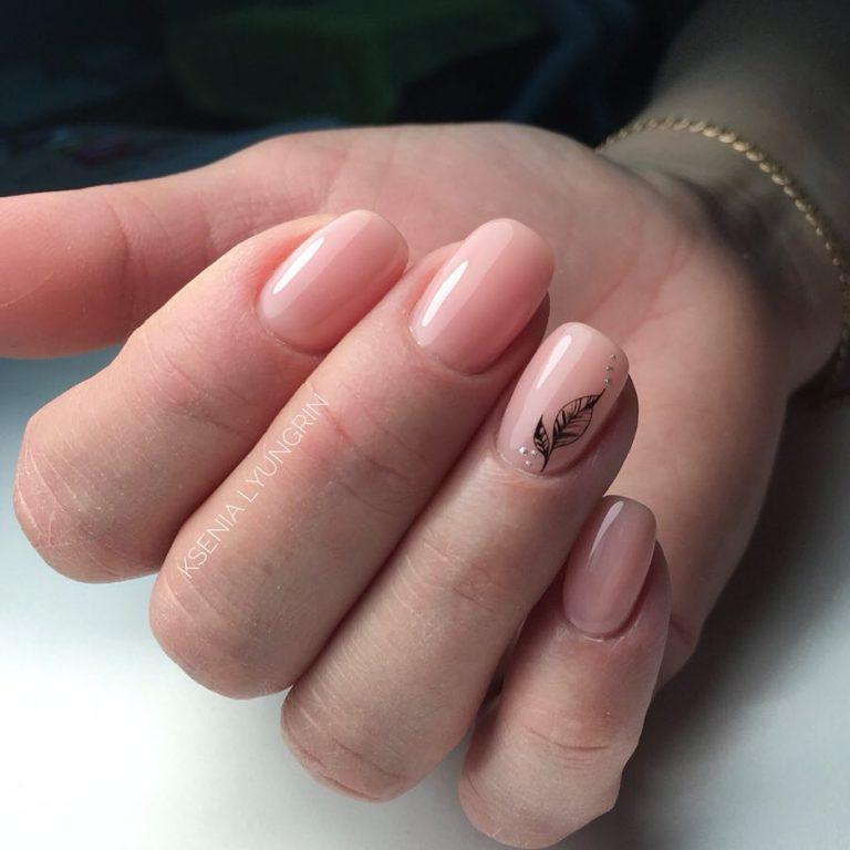 Веточки на ногтях: 50 идей изумительно нежного дизайна для тех, кто ждет весну