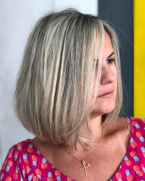 Короткий боб - беспроигрышный вариант стрижки для женщин за 40