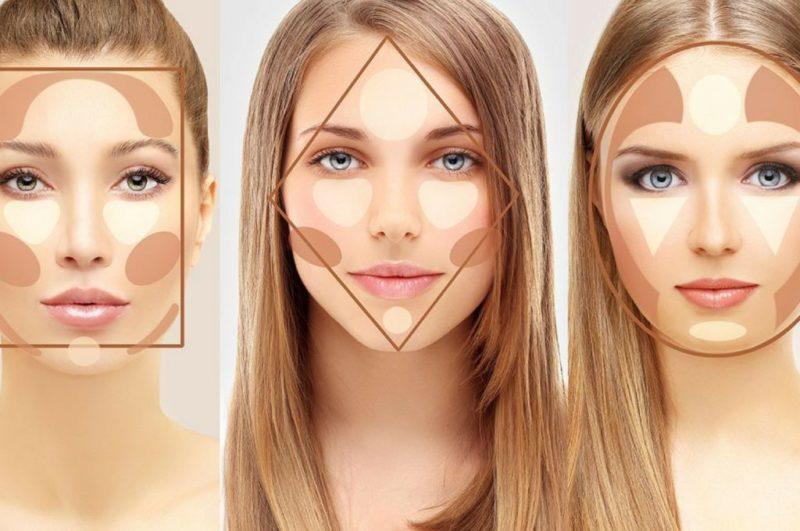 Без ножа и уколов: как исправить контур лица с помощью косметики