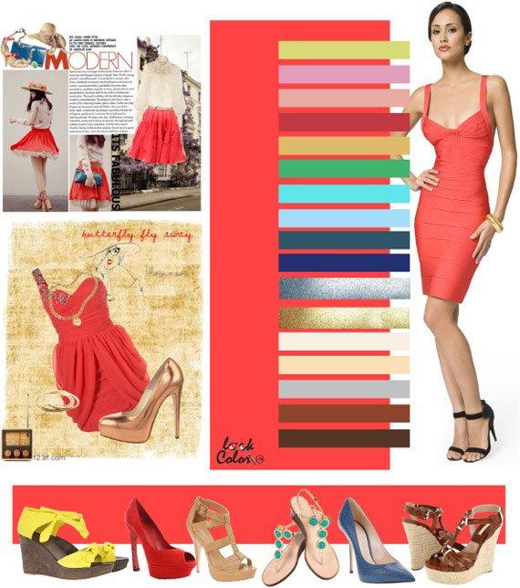 Цветовые сочетания в одежде