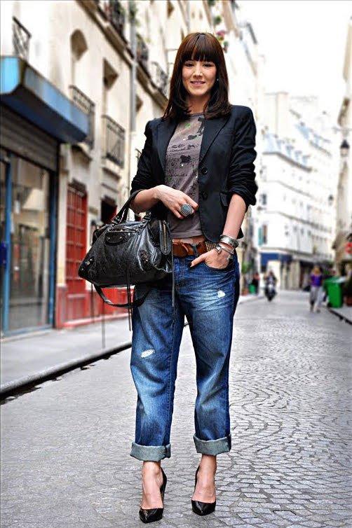 Как сочетать женский пиджак и джинсы | Изюминки | 754x502