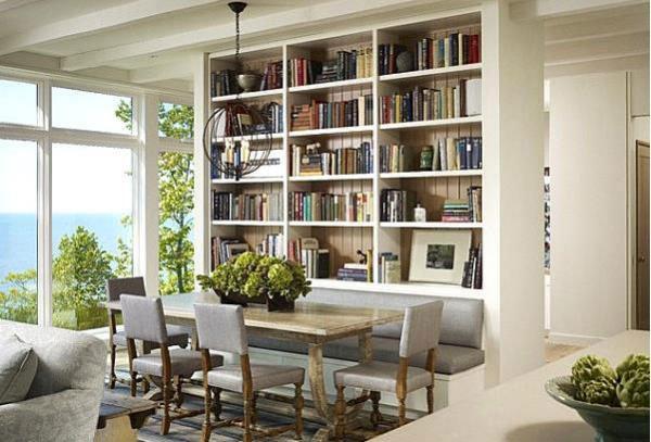 Книги вокруг нас: как оформить домашнюю библиотеку