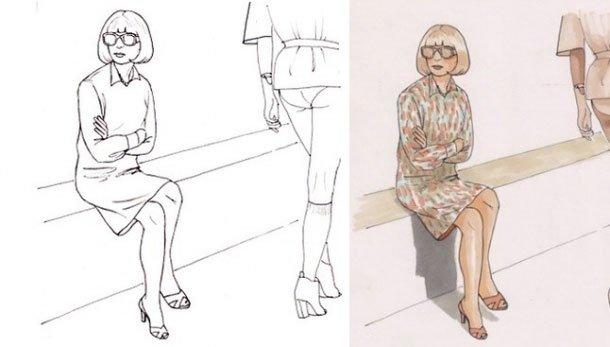 модные раскраски для взрослых девочек